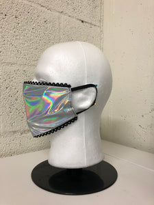 Hologram Lace Edge Face Mask (Limited Edition)