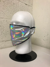 Load image into Gallery viewer, Hologram Lace Edge Face Mask (Limited Edition)