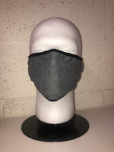 Load image into Gallery viewer, Heather Grey Chambray Face Mask