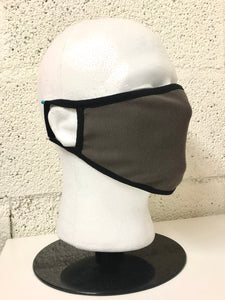 Taupe Cotton Face Mask (Bulk)