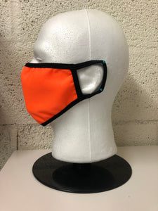 Neon Orange Face Mask (Bulk)
