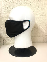 Load image into Gallery viewer, Black Nylon Face Mask (Bulk)