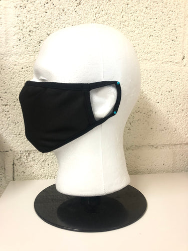 Black Nylon Face Mask (Bulk)