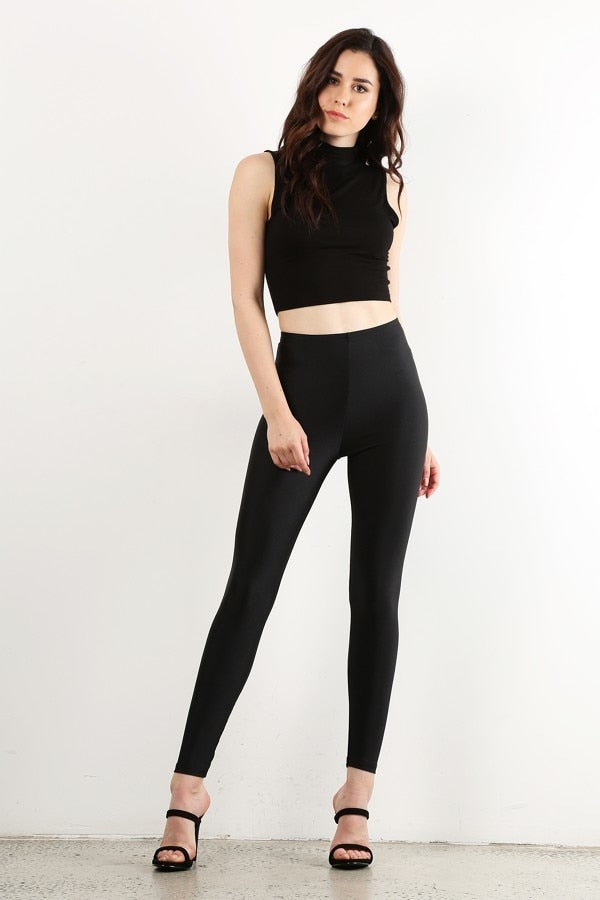 Black Disco Legging