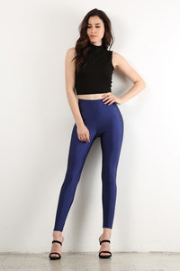 Cobalt Blue Disco Legging