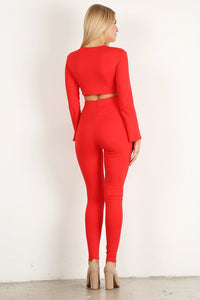 Red Style #1369Flare (6sets)