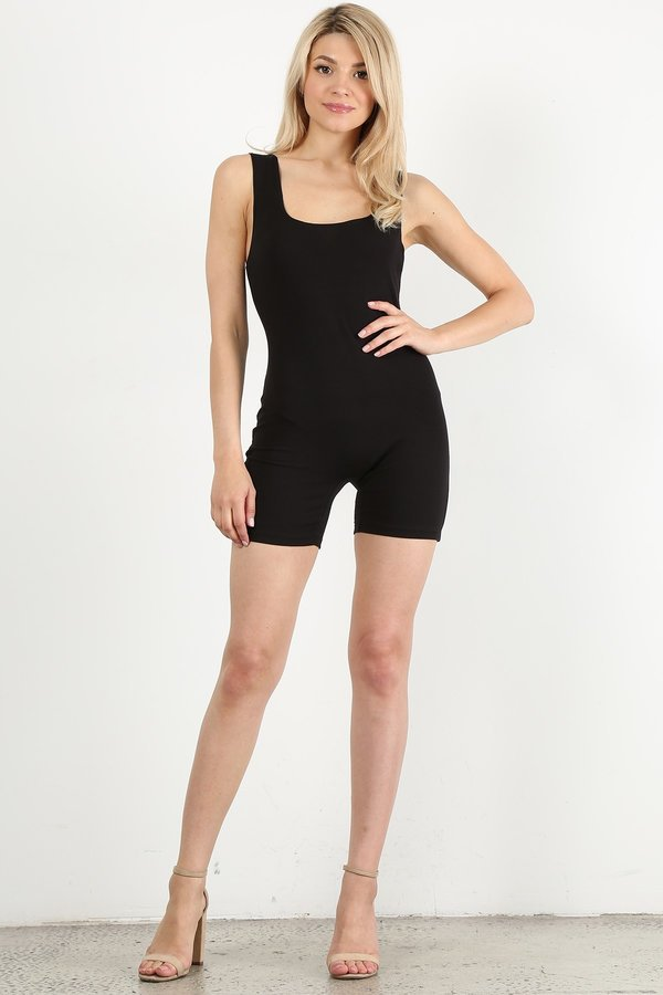 Black Short Unitard