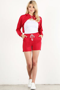 Red Style #1357-2 Joggers (6pc)