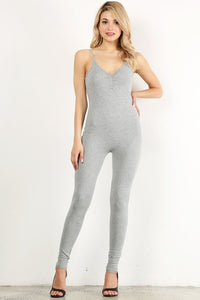Heather Gray Unitard