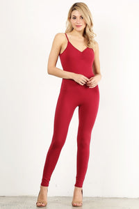 Deep Red Unitard