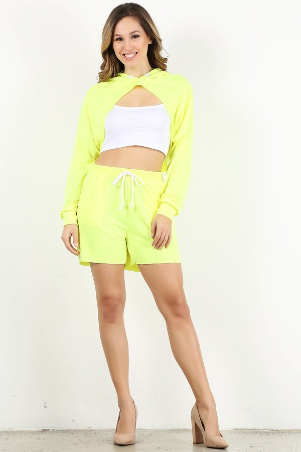 Neon Yellow Style #1357 SET (6 Sets)