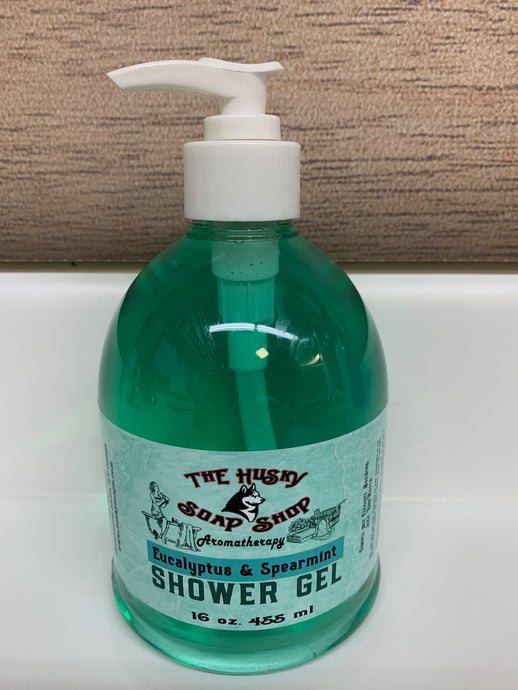 Eucalyptus & Spearmint Shower Gel