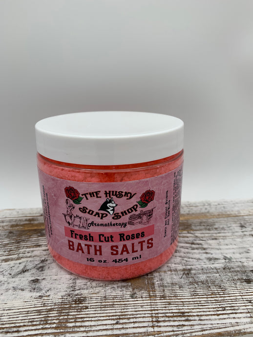 Dead Sea Mineral Bath Salts - Fresh Cut Roses Aromatherapy