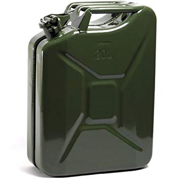 Petrol Canister (20L, empty) - metal