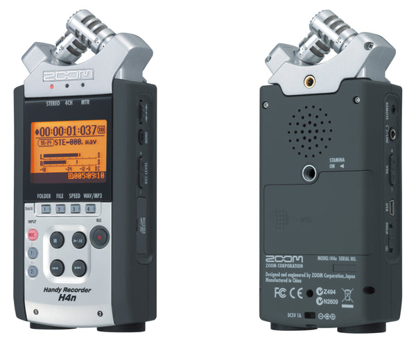 Zoom H4N audio recorder