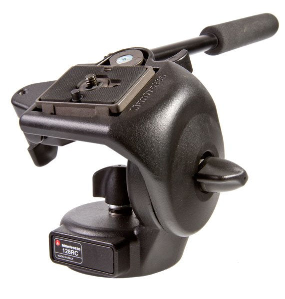 Manfrotto 128RC micro fluid head (for Benro C-158EX legs)