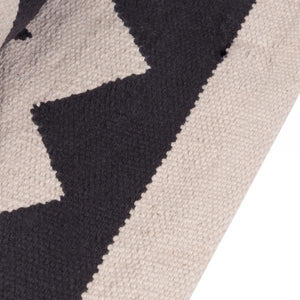 100% Cotton Coord Zigzag Geometric Rug - Pebble & Leaf HomeRugs