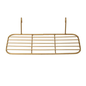 2 Free Offer! Nordic Style Gold Grid Message Photo Display Letter Rack - Pebble & Leaf Home