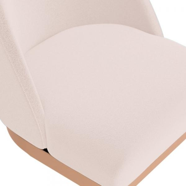 commercial use bar stool, free velvet protection offer, free UK delivery, pale blush light pink, copper polished leg, 2020 best bar stool chair luxury minimalist kitchen counter top height 65cm 75cm