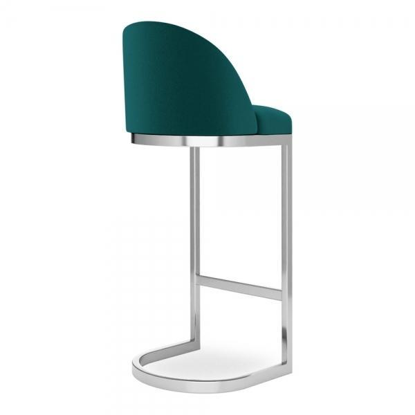 commercial use bar stool, free velvet protection offer, free UK delivery, teal green blue, chrome silver leg, 2020 best bar stool chair luxury minimalist kitchen counter top height 65cm 75cm
