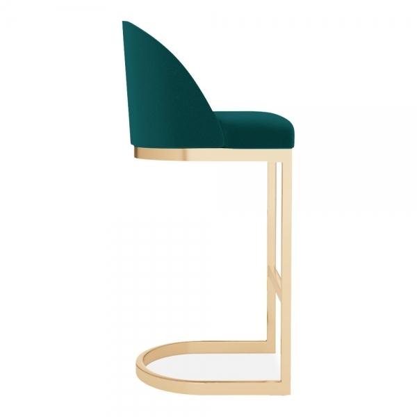 commercial use bar stool, free velvet protection offer, free UK delivery, teal green blue, gold brass leg, 2020 best bar stool chair luxury minimalist kitchen counter top height 65cm 75cm