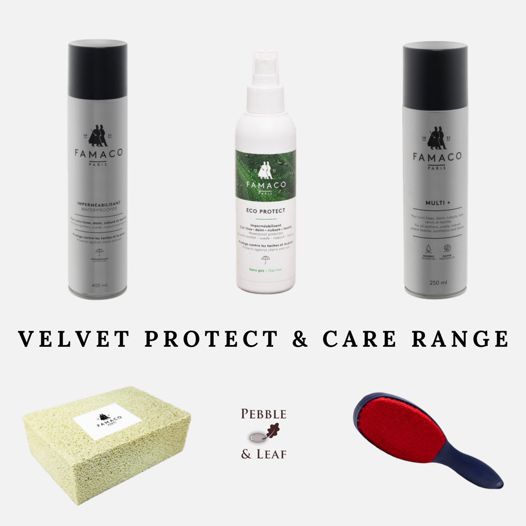 Luxe Velvet Protect & Care Waterproof Cleaning Range