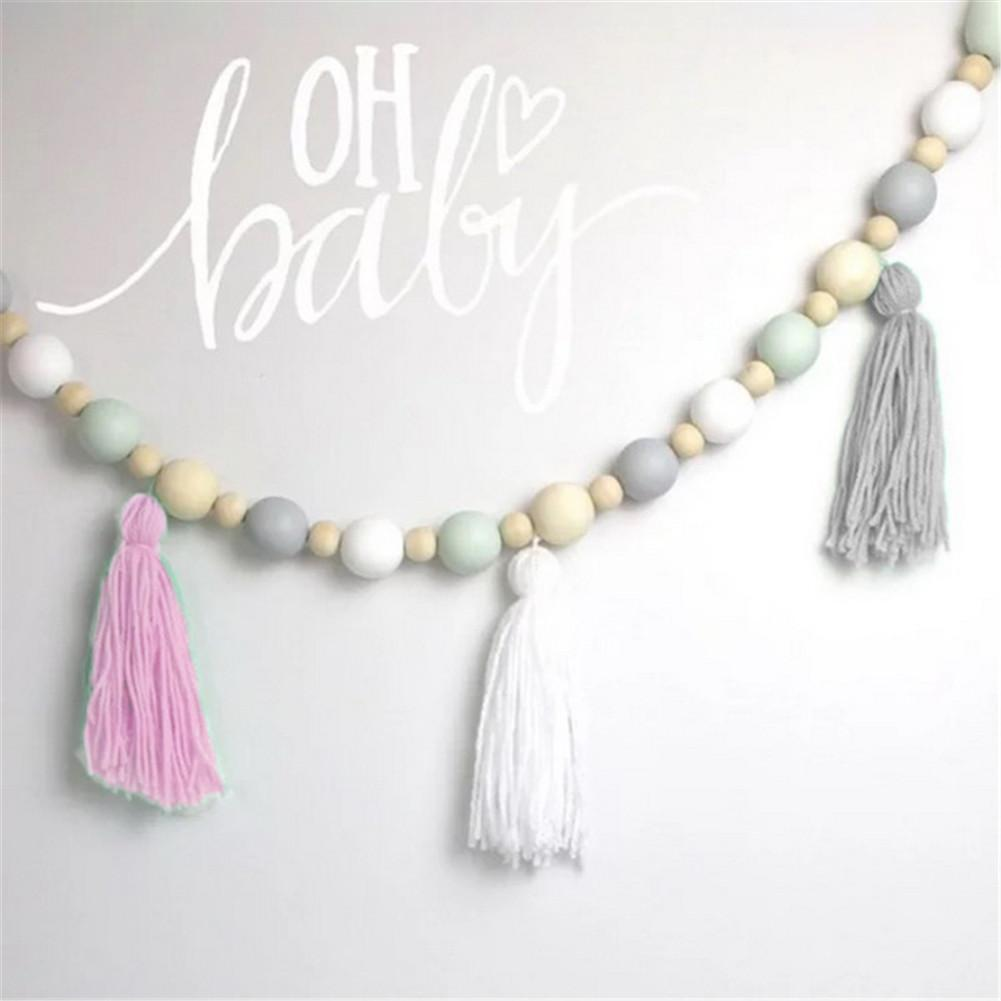Wooden Tassel Beads Garland FREE OFFER!!!! - Pebble & Leaf Ltd