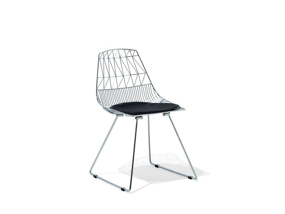 Silver Chrome Dining Chair Gold . Black . Silver Orion Geometric Metal Counter Height 75 cm Bar Stool Chair High Back - Pebble & Leaf Homefurniture