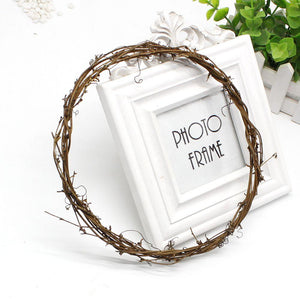 Rattan Willow Wreath Decoration - Pebble & Leaf Ltd
