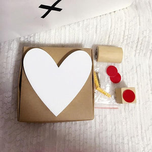 White Heart Wooden Cloud Star Heart Shape Wall Hook - Pebble & Leaf LtdStorage