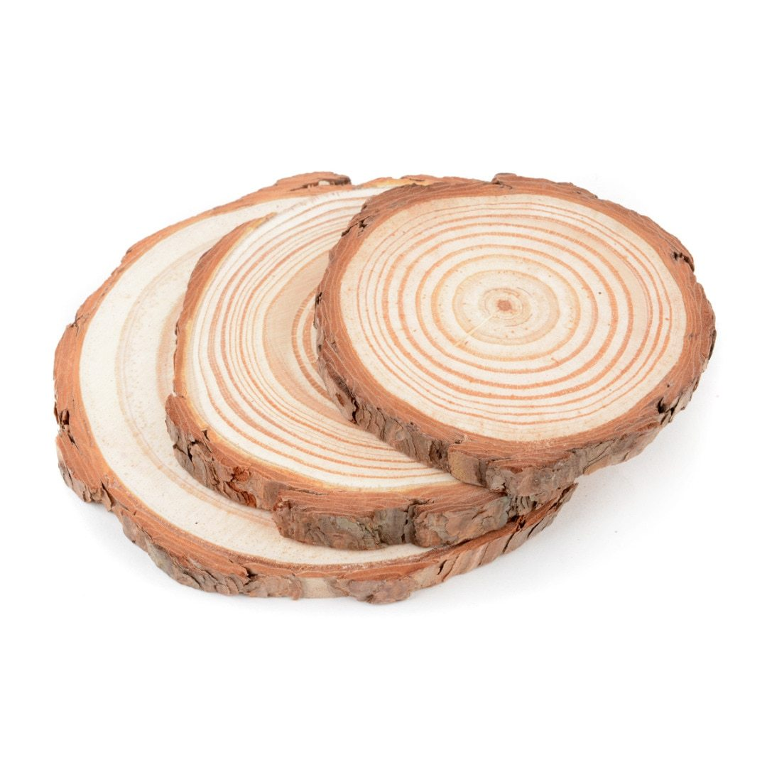 Natural Wood Slice Coaster - Pebble & Leaf Ltd