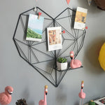 FREE OFFER! Nordic Hanging Heart Photo Memo Board - Pebble & Leaf HomeNew Nordic / Scandi