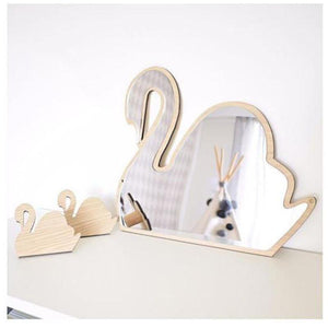 Nordic Mirrors Animals and Bows - Pebble & Leaf HomeArt