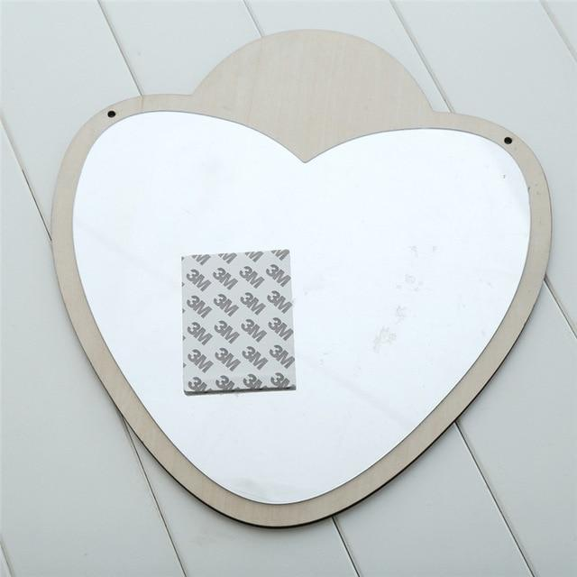 Heart Nordic Mirrors Animals and Bows - Pebble & Leaf HomeArt