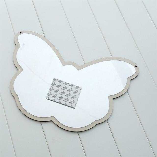 Butterfly M Nordic Mirrors Animals and Bows - Pebble & Leaf HomeArt