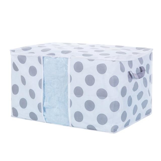 42X27X50cm / DOTS / C Mould Proof Storage Box - Pebble & Leaf HomeStorage