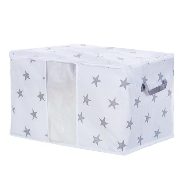 42X27X50cm / STARS / C Mould Proof Storage Box - Pebble & Leaf HomeStorage