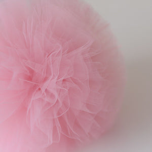 Baby Pink Large Tulle Pom Pom Garland FREE OFFER!!!! - Pebble & Leaf HomeWall Art