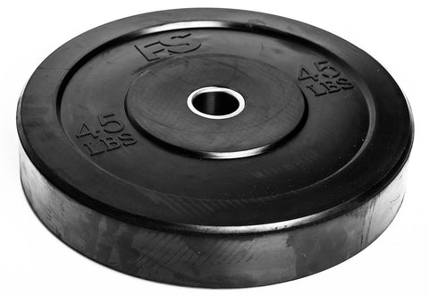 FS Black Training Bumper Plates