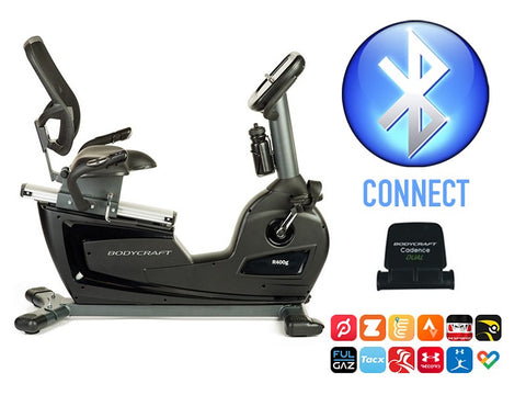 Body Craft R400g Semi-Recumbent Exercise Bike
