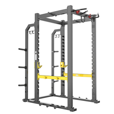 Power Cage With Plate Storage