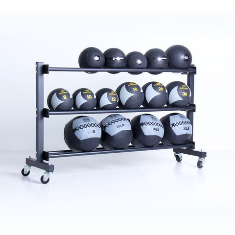 Xtreme Monkey 3 Tier Commercial Med Ball Rack w/wheels