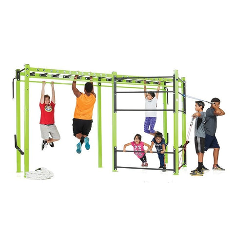 Tuff Stuff YOUTH FITNESS SINGLE TOWER JUNGLE GYM (KDS-JUNGLE)