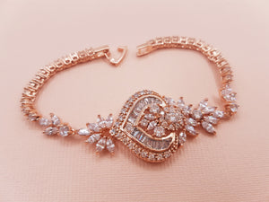 Rose gold bracelet ALEX
