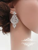 Art Deco earrings SKYLAR - magnificencebridal-com