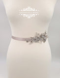 magnificencebridal-com,Lace bridal sash belt KATE,Sash belt.