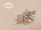 Blush and gold comb ANYA