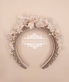 Blush headband JOAN