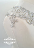 Art nouveau  bridal cover-up GERTA
