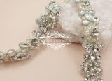 Pearl bridal belt LOUISA